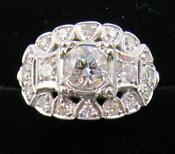 Antique Estate Diamond Ring