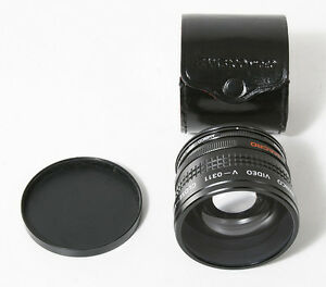 AMBICO VIDEO V-0311 CLOSE-UP WIDE VIEW LENS WITH CASE