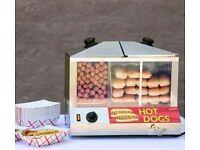 Hot Dog steamer display - IN0156