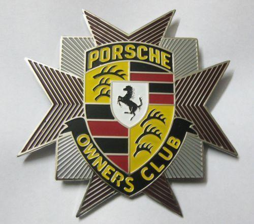 Porsche Grill Badge Ebay