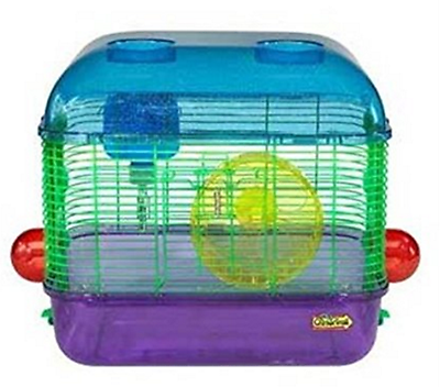 SUPERPET CRITTERTRAIL MINI 2 PORTABLE TRAVEL CAGE FOR