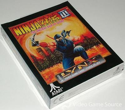 ATARI LYNX GAME CARTRIDGE # NINJA GAIDEN III 3 # *NEUWARE / BRAND NEW!
