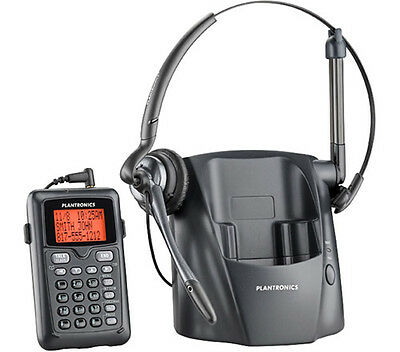 Plantronics CT14 DECT 6.0 Cordless Telephone Headset Phone / Remote Keypad New