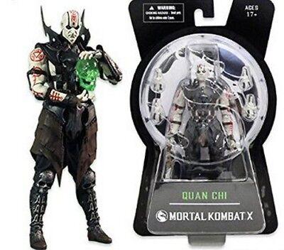 Mortal Kombat Quan Chi Action Figure Mezco Toyz NIB new in box - Mortal Kombat Swords