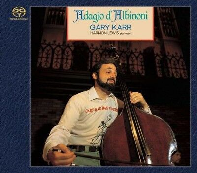 Gary Karr   Adagio Dalbinoni  New Sacd  Japan   Import