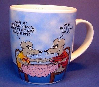 ULI STEIN Tasse Henkeltasse - Alt und hässlich - aus Porzellan - NEU