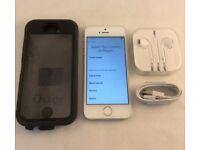 apple iphone 5s white silver ee virgin orange t mobile can unlock unlocked