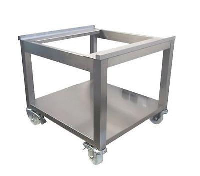 Untergestell GSP 2 auf Rollen mit Bodenplatte 600 Breite
