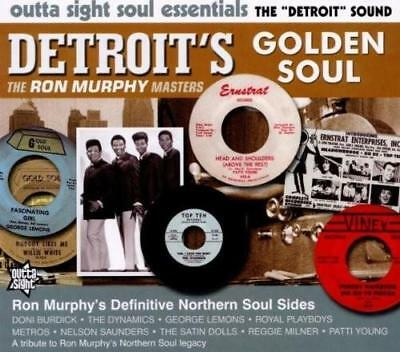 DETROIT'S GOLDEN SOUL Various NEW & SEALED NORTHERN SOUL CD (OUTTA SIGHT) R&B