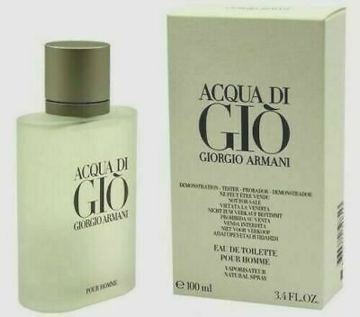 ACQUA Aqua Di Gio Giorgio Armani 3.4 EDT Fragrance Spray Men NIB Cologne Perfume