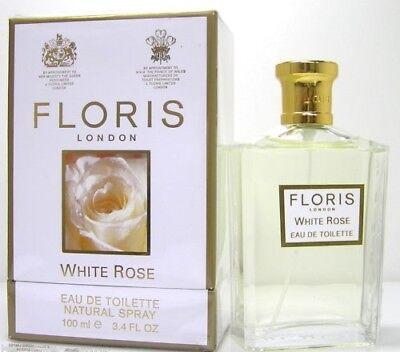 Floris London White Rose 100 ml EDT / Eau de Toilette Spray - London Eau De Toilette Spray