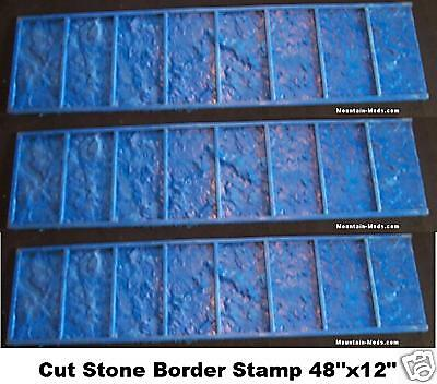 3 Granite Tile Border Decorative Concrete Stamps Mat