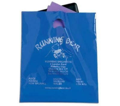 10 kg Cheapest Misprint Patch Handle Carrier Bags 15' x 18'' x 3''
