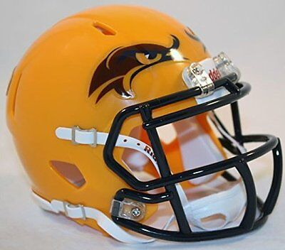 Kent State Golden Flashes Alternate Yellow NCAA Revolution SPEED Mini Helmet (Golden Flashes Mini Helmet)