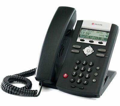 New Polycom Soundpoint Ip 321331335 Business Phone