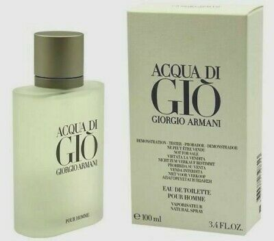 ACQUA DI GIO by Giorgio Armani eau de toilette Spray MEN 3.4 oz in a TSTR BOX