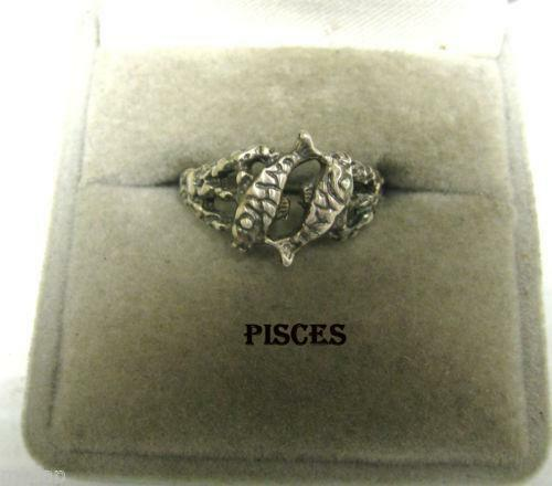 Pisces Ring Ebay