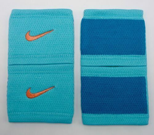 Nike Dri-Fit Stealth Wristbands Tennis Hyper Turquoise/Atomic Pink Mens Women