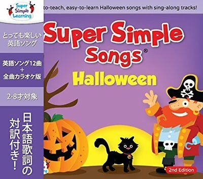 SUPER SIMPLE SONGS HALLOWEEN SECOND EDITION CD CHILDREN KIDS ENGLISH (Super Simple Songs Halloween Cd)