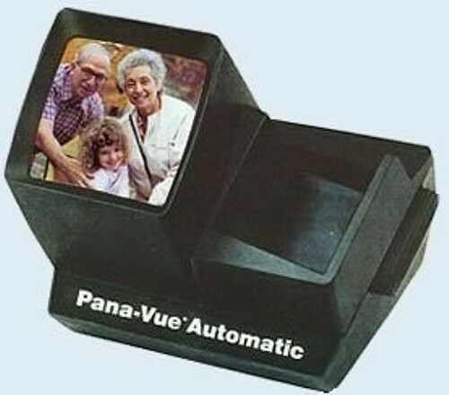Pana-Vue FPA005 Illuminated Auto Slide Viewer for 35mm, Up to 36 Slides
