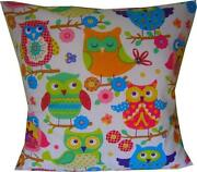 Pink Green Cushion Covers
