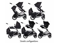 Phil and Ted's promenade double buggy