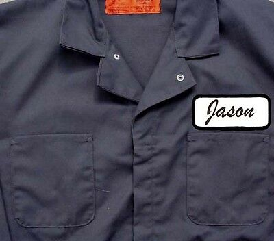 Friday 13 Halloween Costumes (Jason Vorhees JUMPSUIT COVERALL Friday 13th Halloween Costume HI)