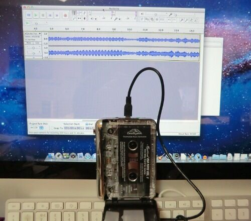 USB Tape Player for Mac Mojave OS. Convert Transfer Tapes, C