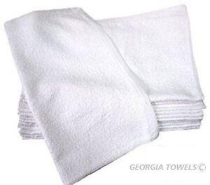60 NEW COTTON WHITE TERRY CLOTH RESTAURANT BAR MOPS PREMIUM KITCHEN TOWELS 32oz