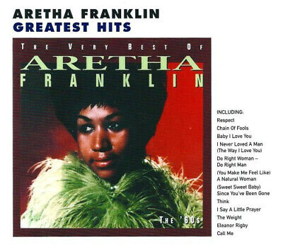 ARETHA FRANKLIN The Very Best Of Aretha Franklin Vol. 1 (1994) CD (Aretha Franklin Best Vocals)