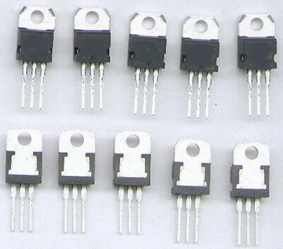 5  X  TRANSISTOR  BD911  NPN  100V  15A  90W  TO220