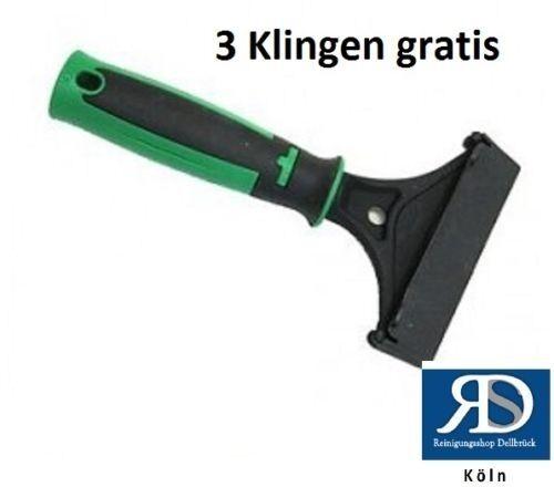 Unger ErgoTec Schaber [SH000] Glasschaber Fensterreinigung + 3 Klingen gratis