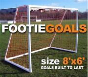 Football Goal Posts 8x6