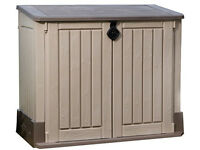 Keter Store It Out Midi Outdoor Plastic Garden Storage Shed. Fully built and delivery available.