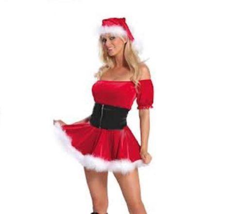 - Mrs Claus Costume Christmas Fancy Dress EBay