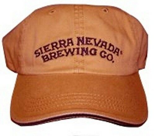 Sierra Nevada Brewing Company Hat Baseball Cap Adjustable Dandelion - 47292