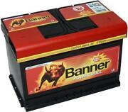 Autobatterie Banner