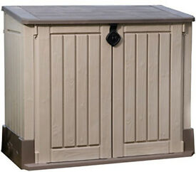 New Keter Store It Out Midi Garden Plastic Outdoor Storage Shed -Delivered fully built to your door!