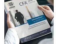 2018 CFA Schweser Books,Kaplan University Books level 1, 2, 3 Books available for sale.