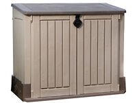 New Keter Store It Out Midi Garden Plastic Outdoor Storage Shed -Delivered fully built for free!