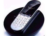 Sagemcom D77T Contemporary Designer DECT Digital Cordless Phone.