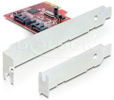 Delock PCI Express Karte > 2 x intern SATA 6 Gb/s
