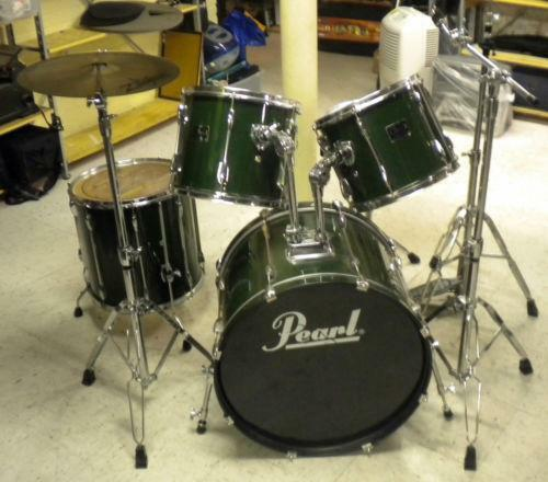 Pearl Export Drum Kit Ebay