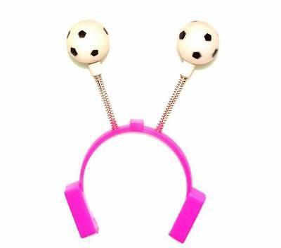 Lot of 12 Pieces - Novelty Light Up Soccer Headbands ()