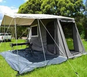 Hard floor rear fold camper trailer Wynn Vale Tea Tree Gully Area Preview