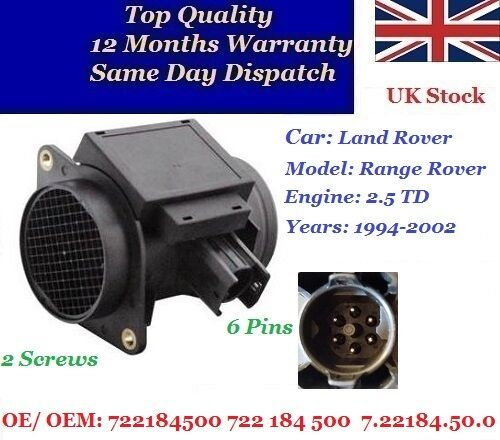 PIERBURG Air Flow Sensor for ROVER 25 7.22701.09.0 Discount Car Parts