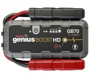 NOCO GENIUS GB70 BOOSTHD+ JUMP STARTER AND POWER BANK, 2000 AMP