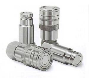"""1/2"""" Flat Faced Quick Release Hose Coupler – Set of Male & Female St Marys Penrith Area Preview"""