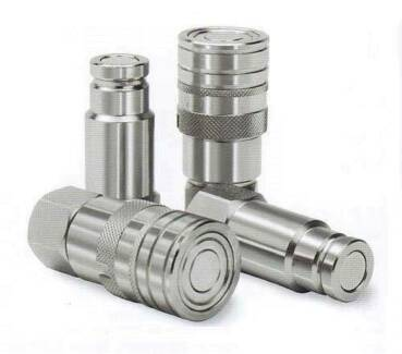 """1/2"""" Flat Faced Quick Release Hose Coupler – Set of Male & Female"""