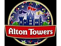 Alton Towers tickets for the 30th September 2016 / 2 Tickets